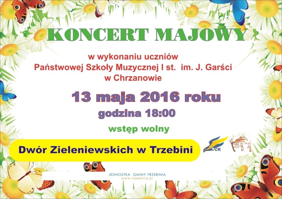 Koncert Majowy w Dworze Zieleniewskich