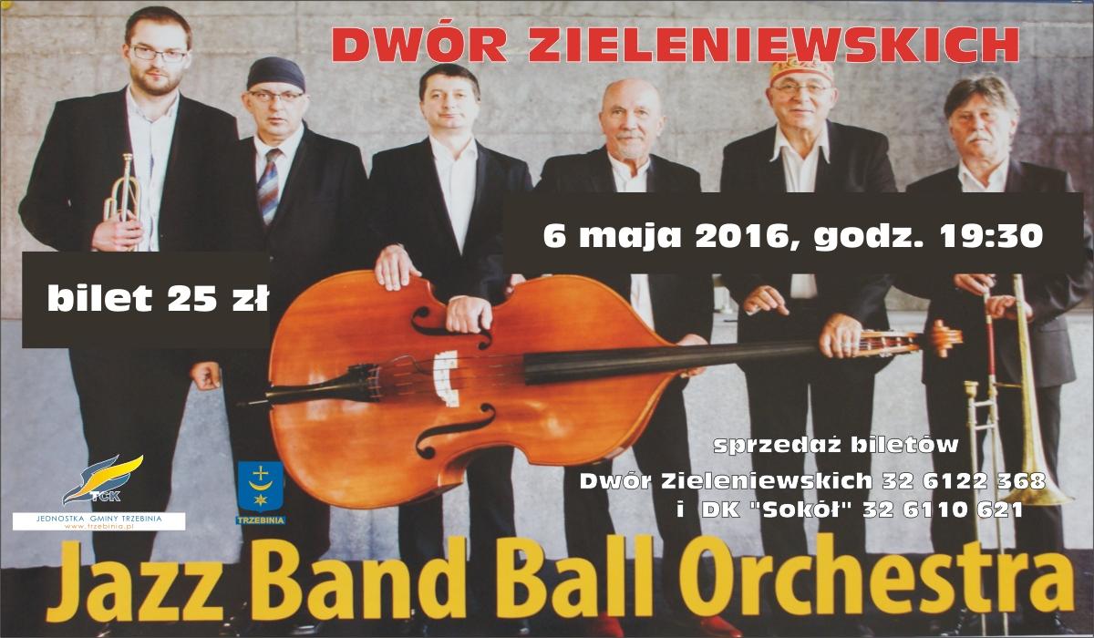 koncert Jazz Band Ball Orchestra w Dworze Zieleniewskich