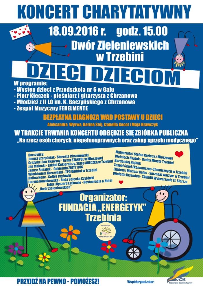 """""""Dzieci dzieciom"""" - koncert charytatywny w Dworze Zieleniewskich"""