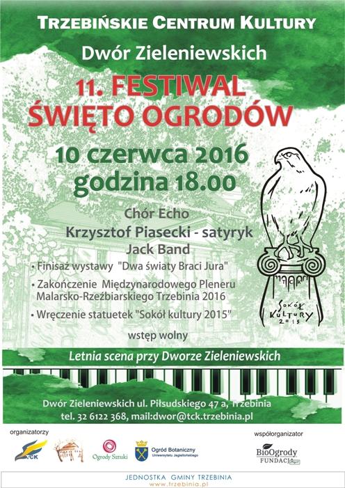 11 Festiwal Święto Ogrodów w Dworze Zieleniewskich