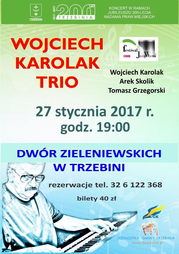 Wojciech Karolak Trio w Dworze Zieleniewskich