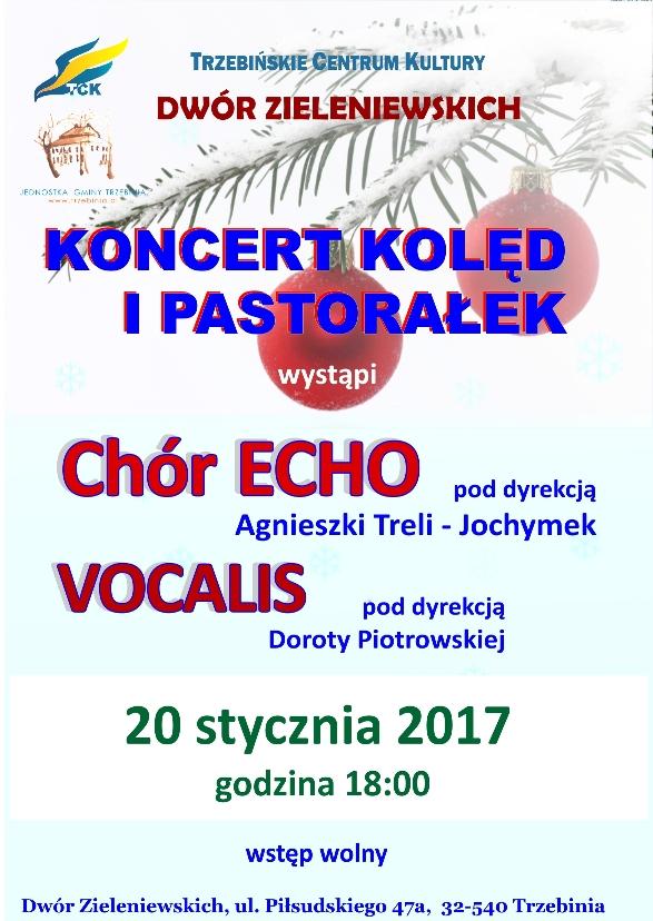 Koncert kolęd i pastorałek w Dworze Zieleniewskich
