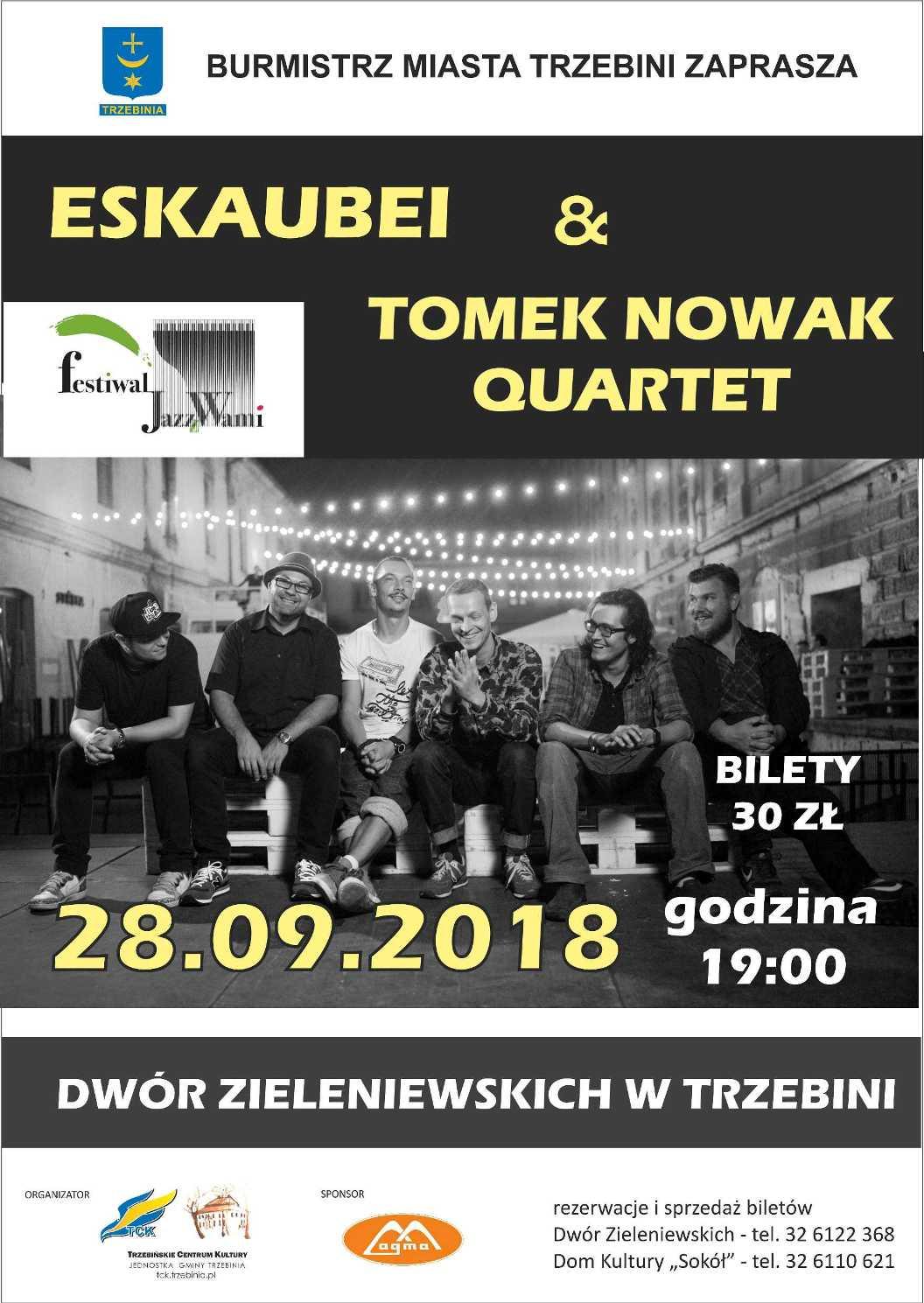 Escaubei & Tomek Nowak Quartet