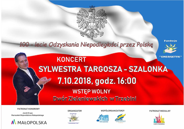 Koncert z okazji 100-lecia Odzyskania Niepodległosci przez Polskę