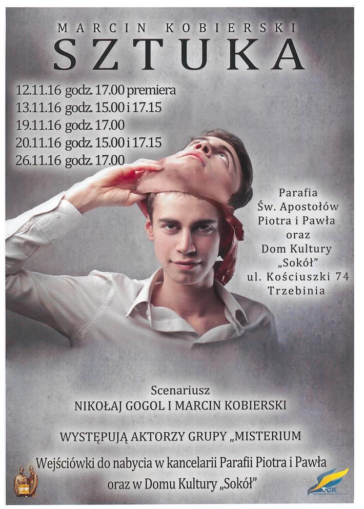 "Spektakl teatralny ""Sztuka"" - grupa Misterium"