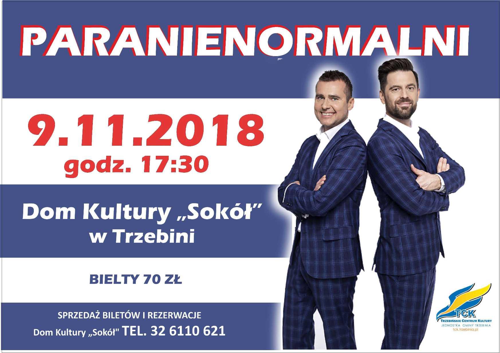 "Paranienormalni w ""Sokole"""