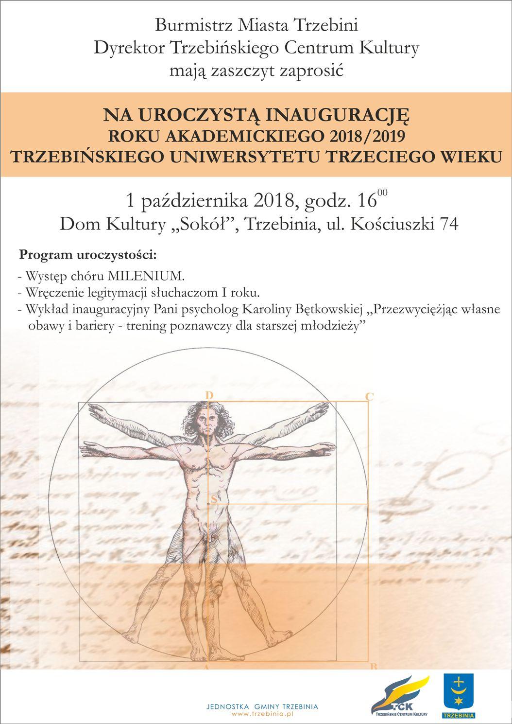 Inauguracja roku akademickiego 2018/19 TUTW