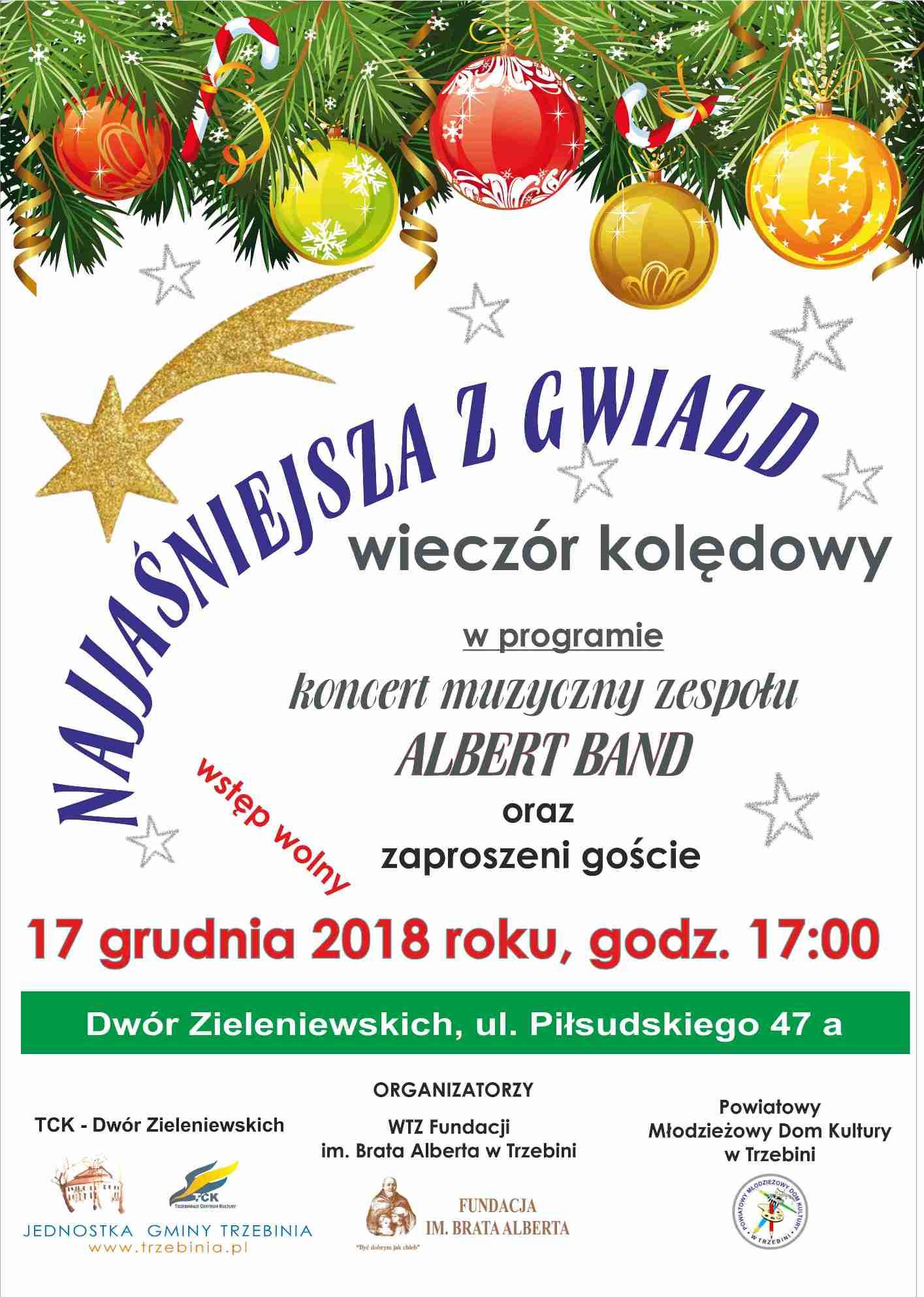 2018 spotkanie kolędowe WTZ