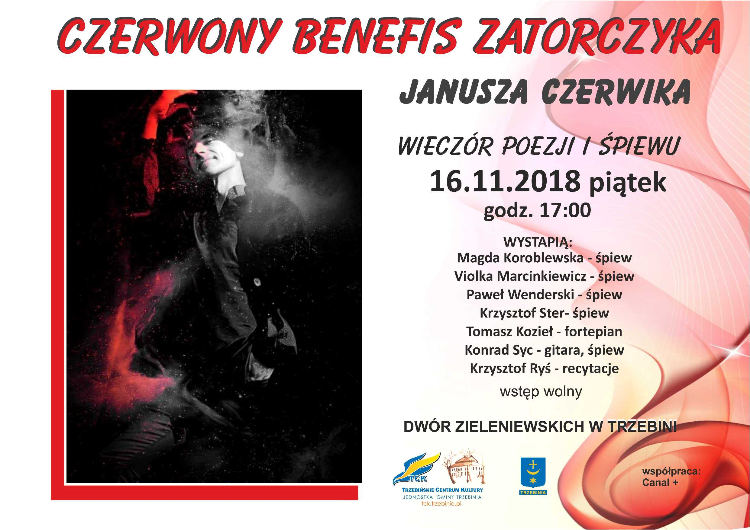 Wieczór poezji i śpiewu w Dworze Zieleniewskich