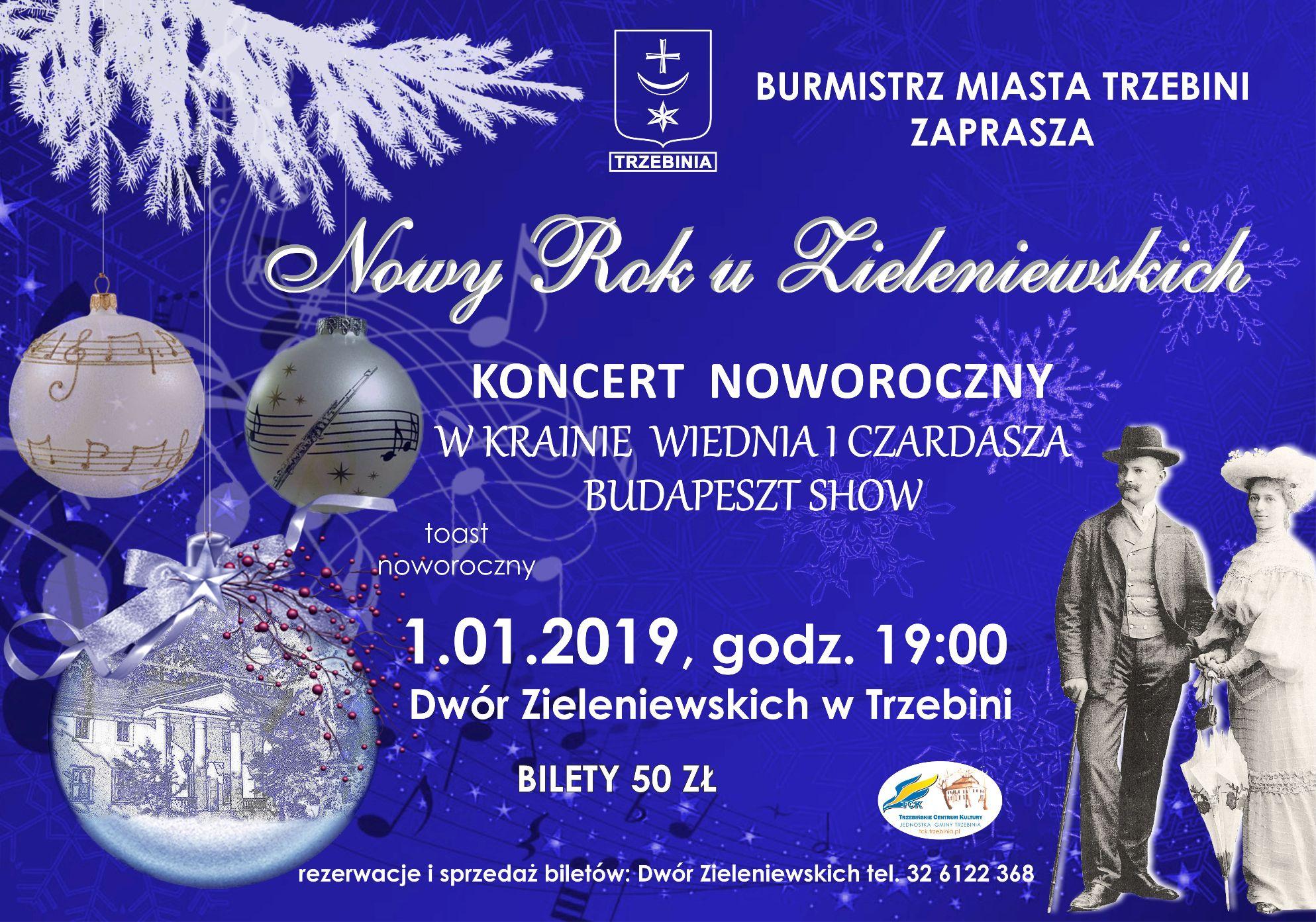 koncert noworoczny 2019 dwór