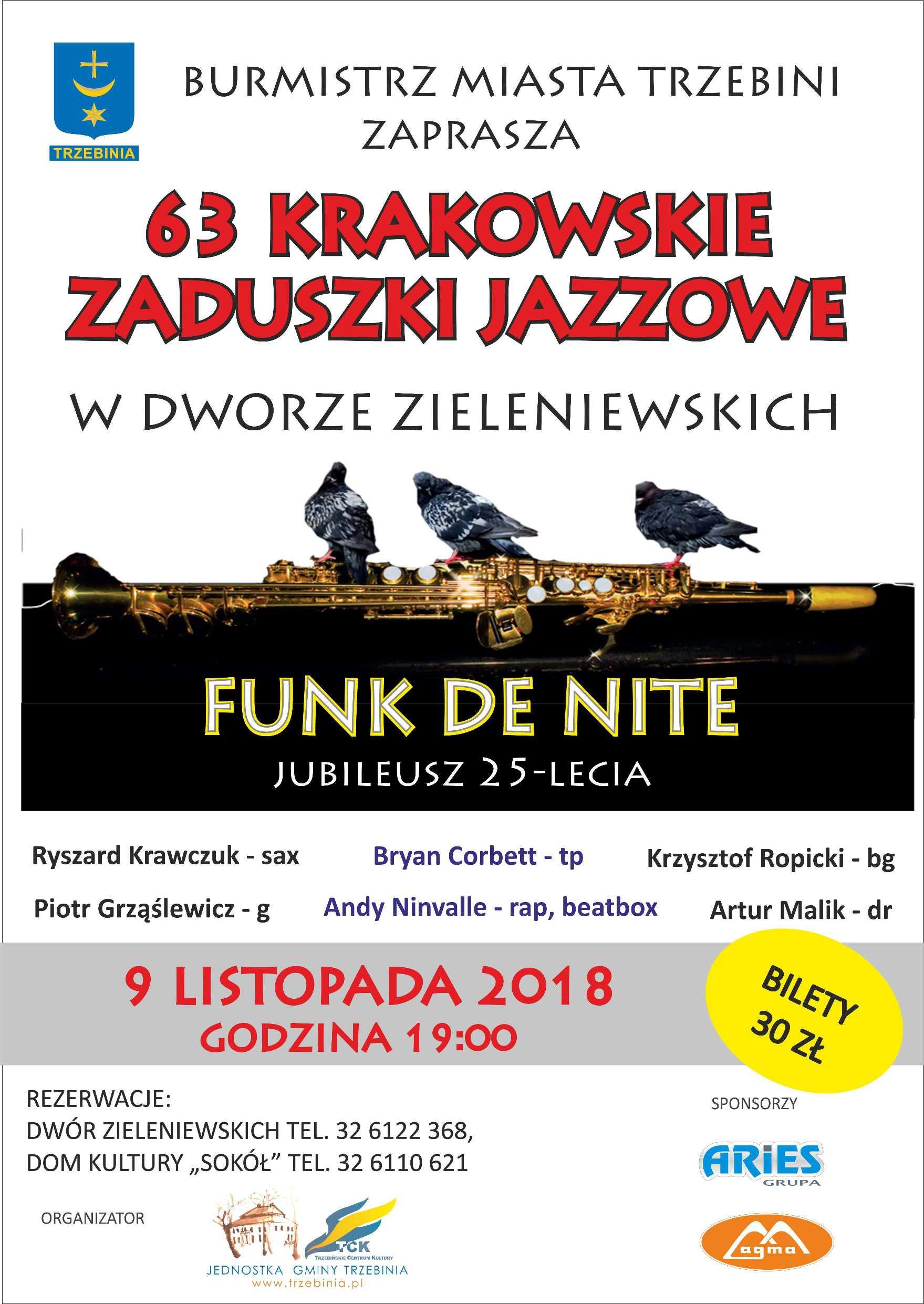 Zaduszki jazzowe w Dworze Zieleniewskich
