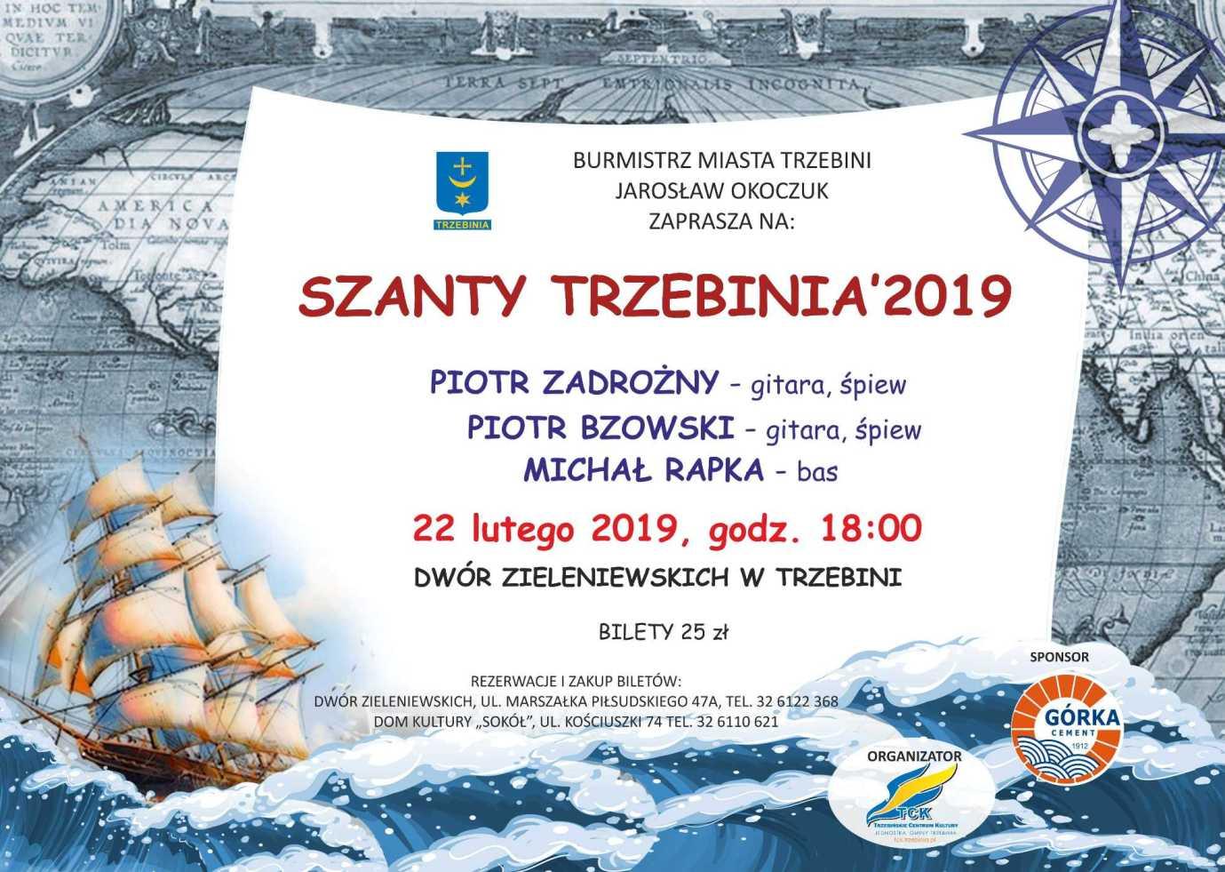 Szanty Trzebinia 2019