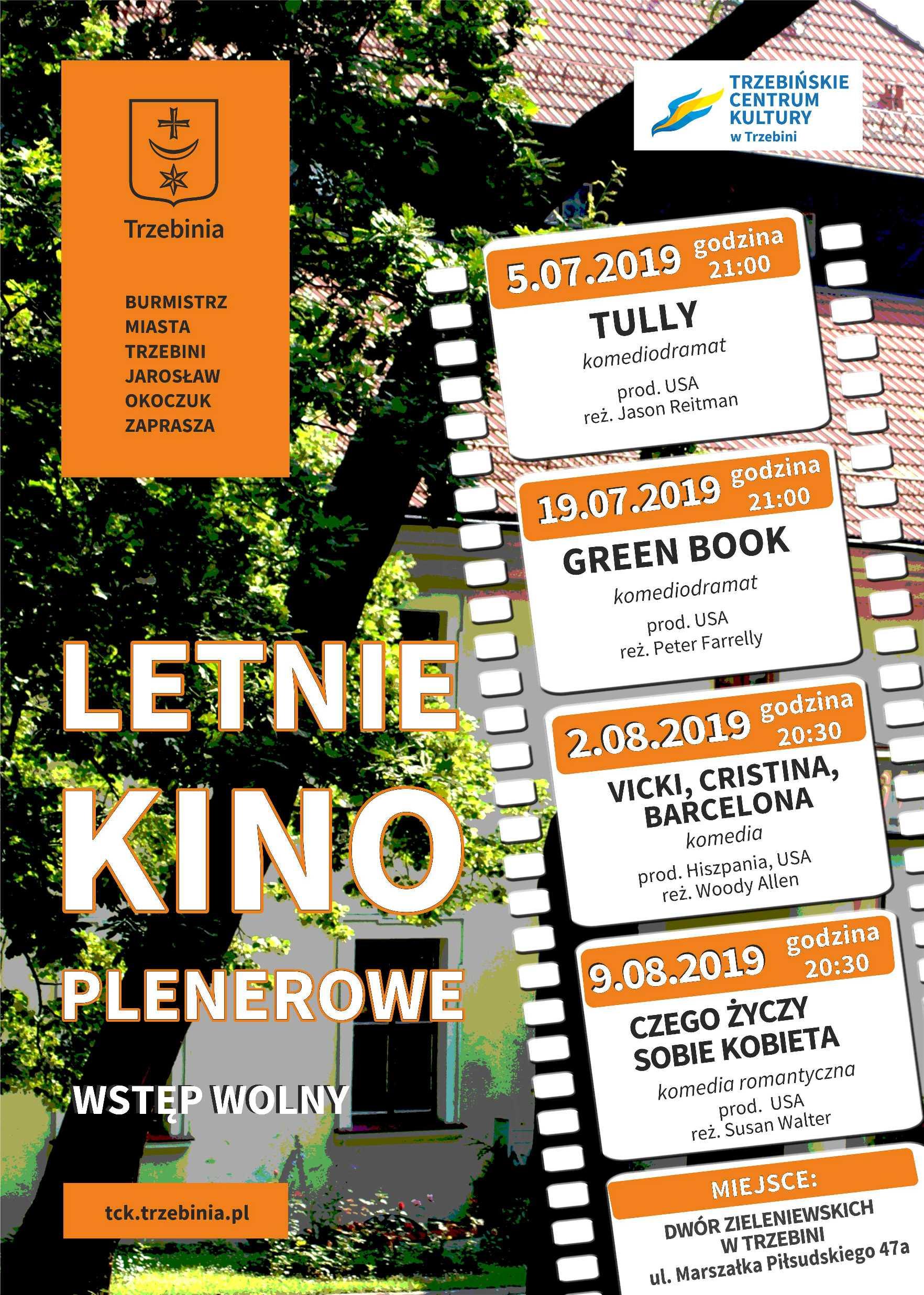 Letnie Kino Plenerowe 2019