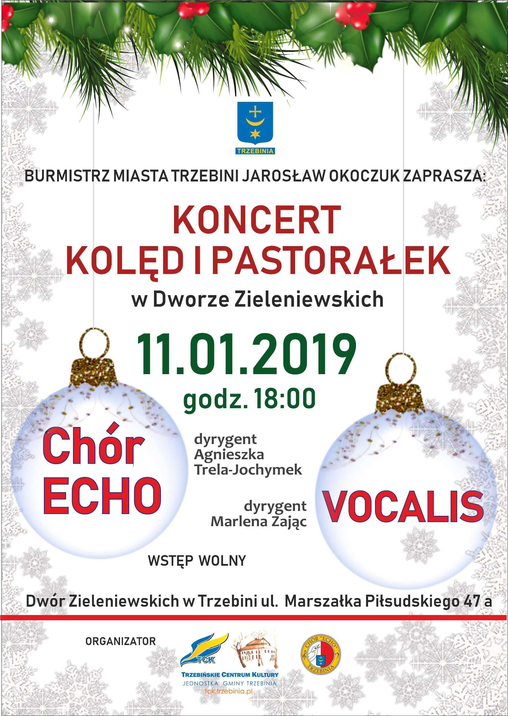 Koncert Kolęd i Pastorałek 2019