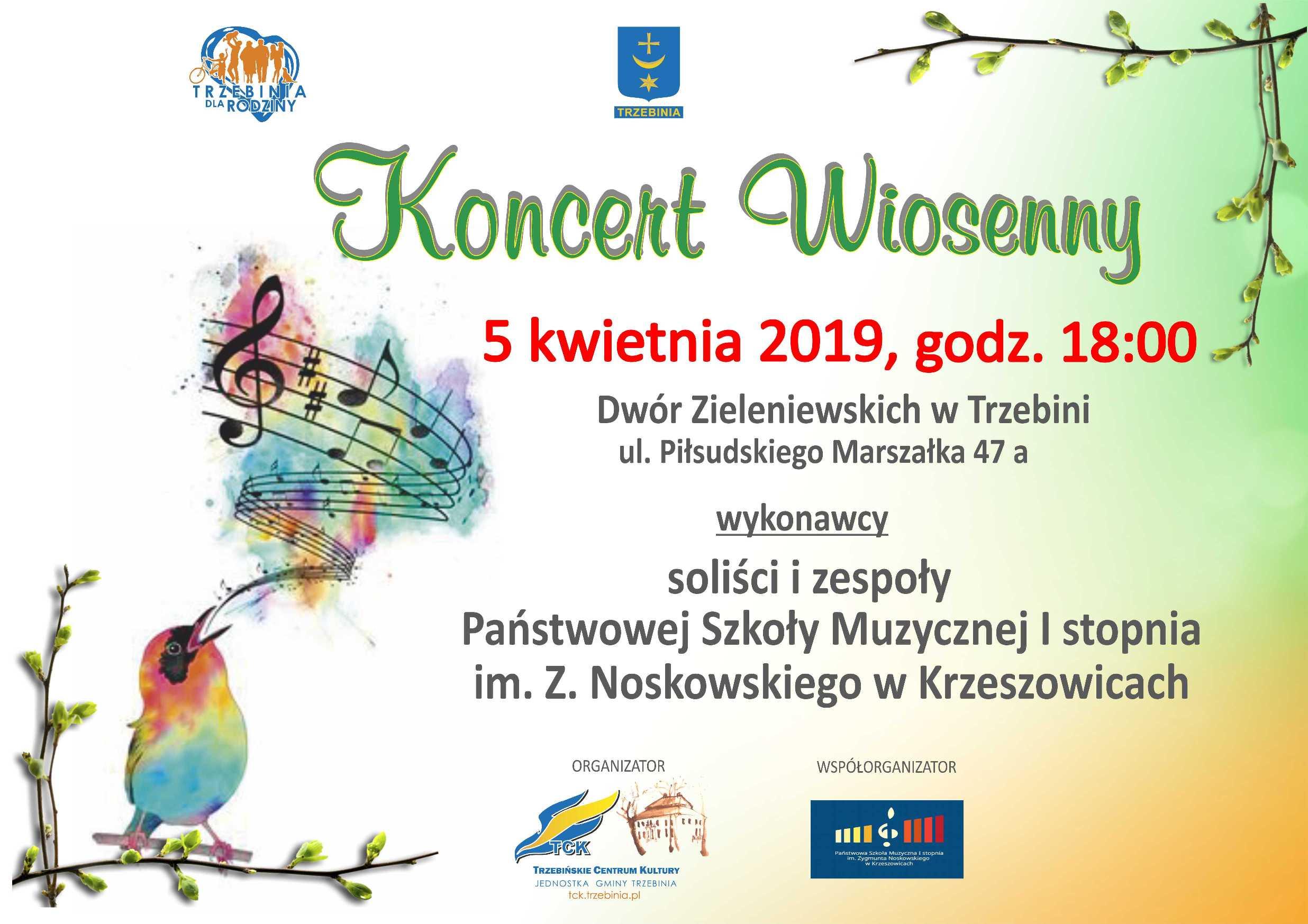 Koncert Wiosenny w Dworze Zieleniewskich