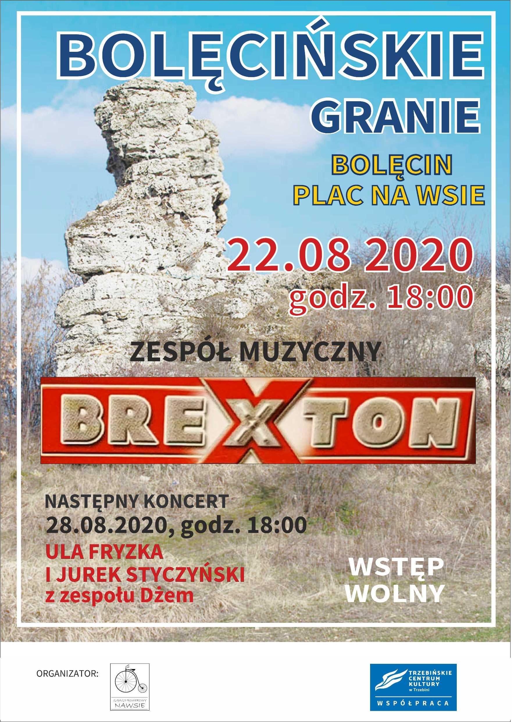 Bolęcińskie Granie - zespół Brexton