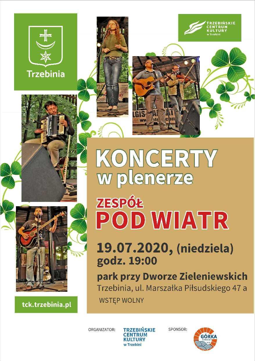 Koncert w plenerze - zespół Pod Wiatr