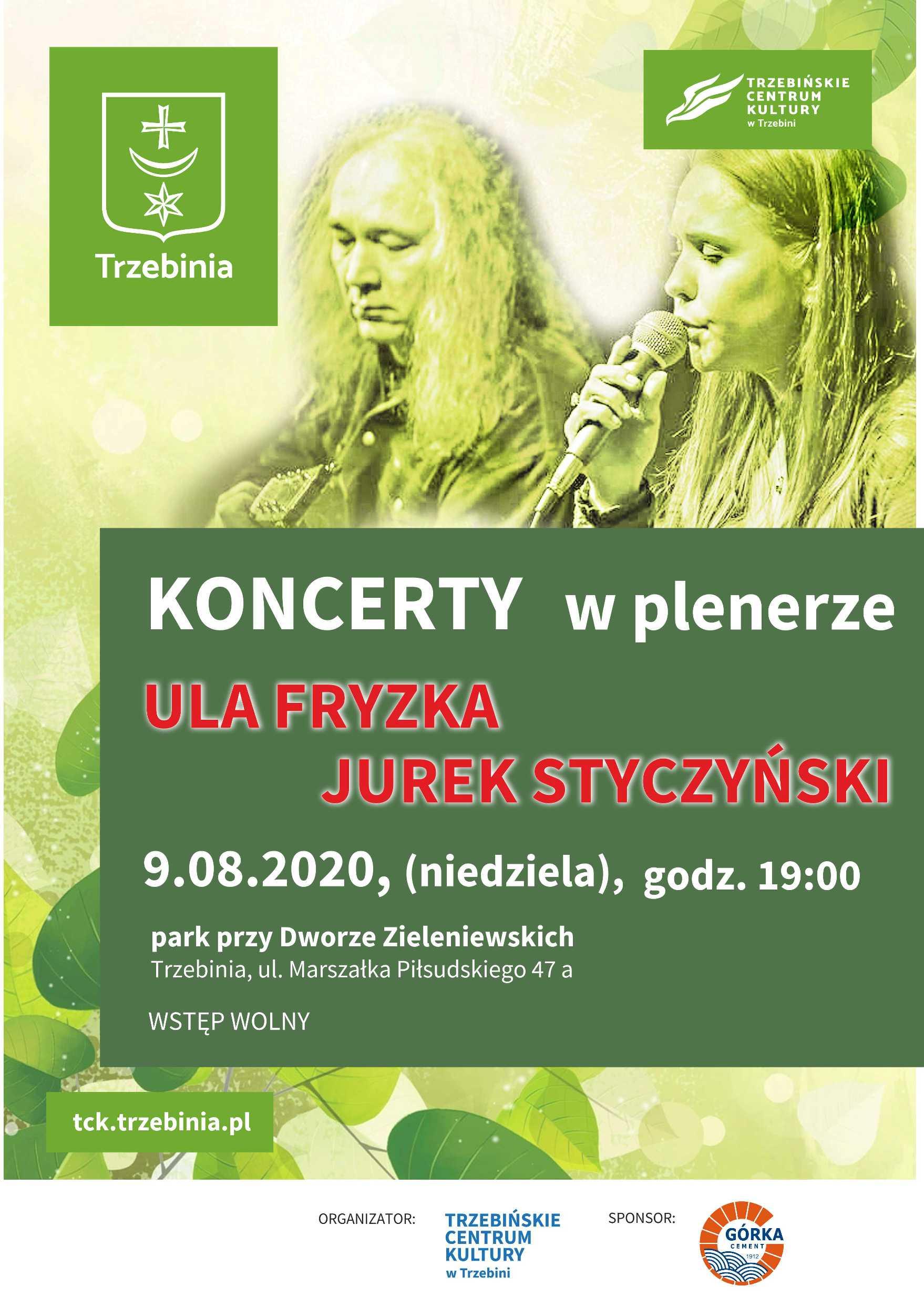 Koncert w plenerze - Ula Fryzka i Jurek Styczyński
