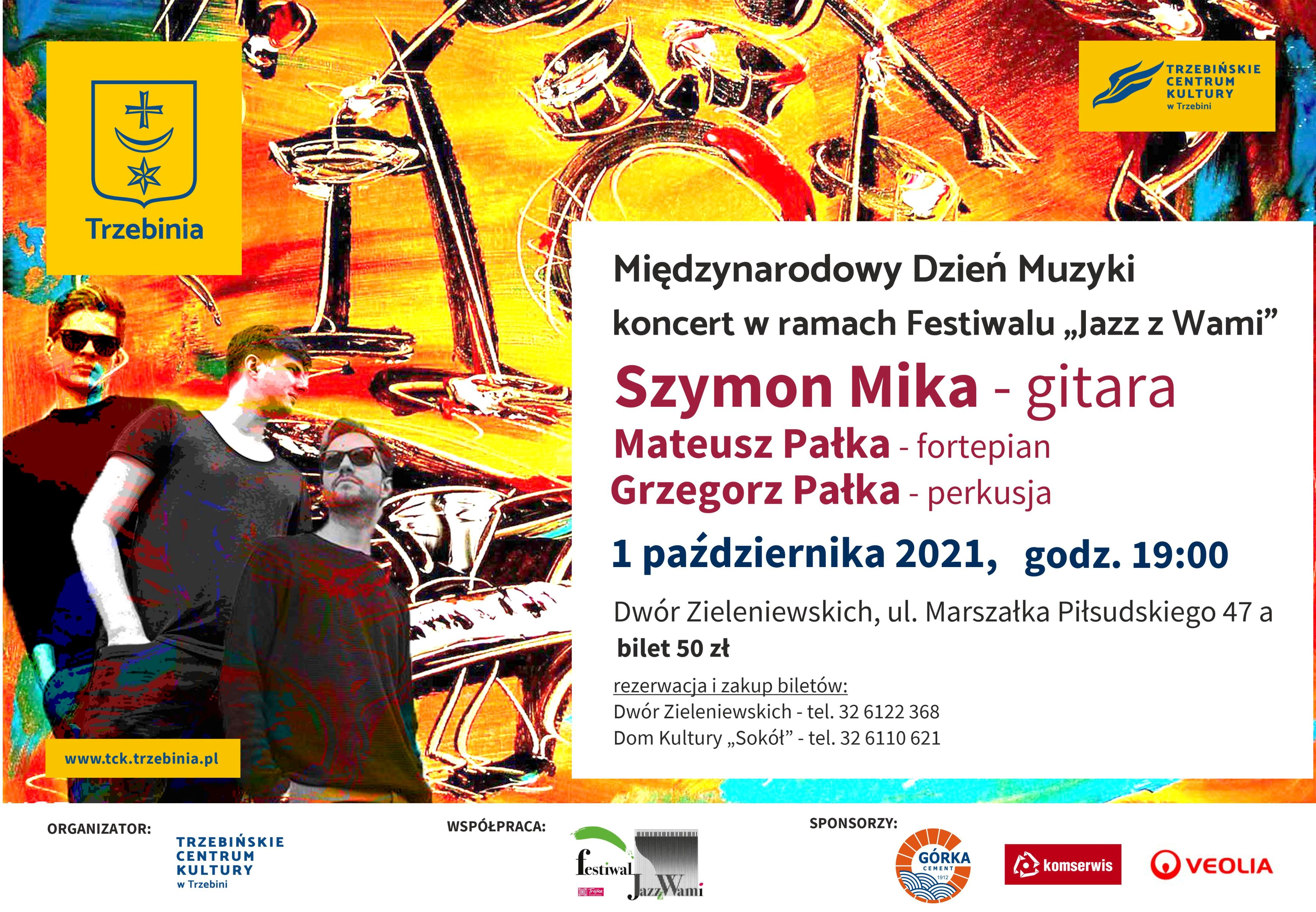 """Koncert jazzowy w ramach Festiwalu """"Jazz z Wami"""""""