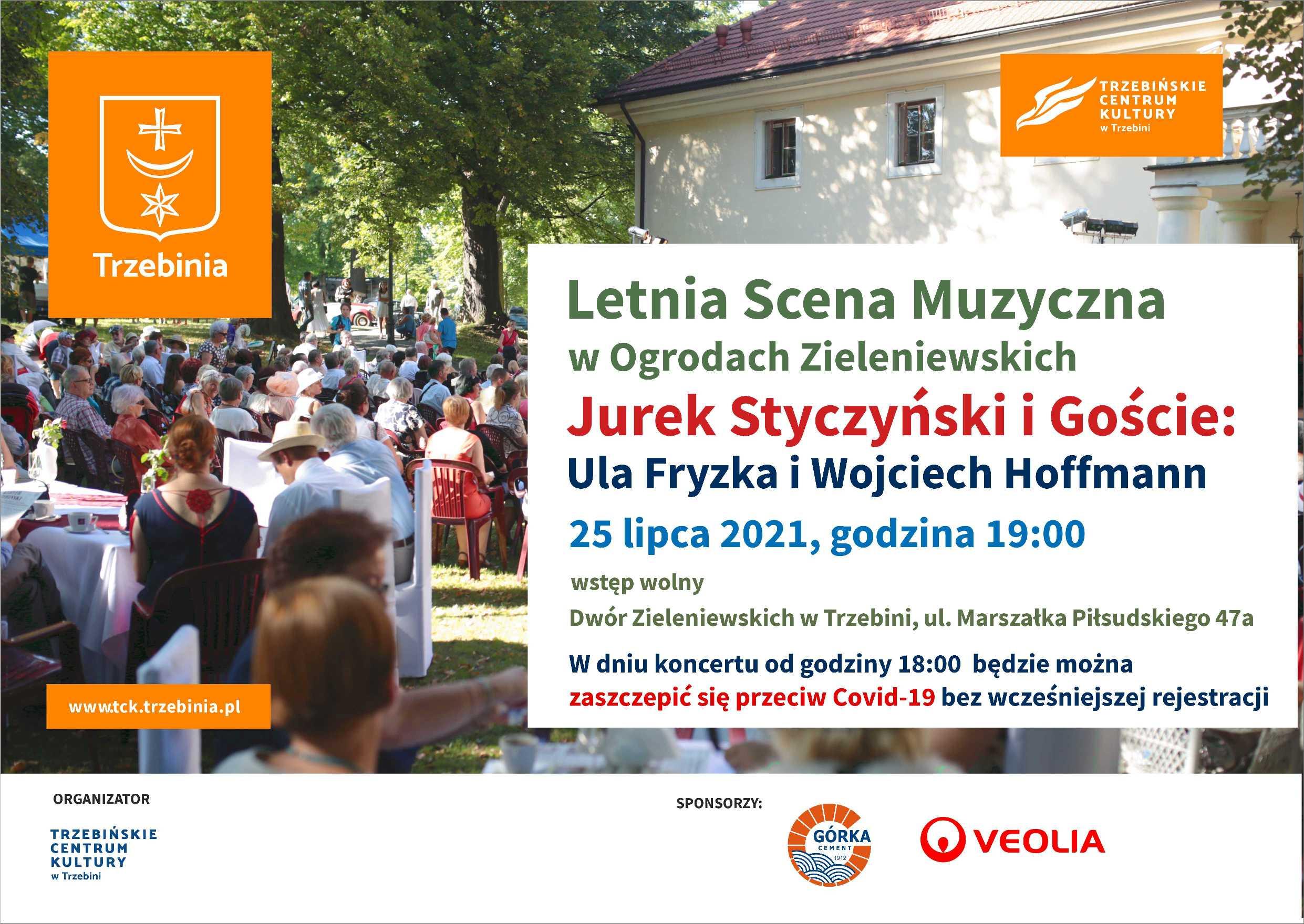 Letnia Scena Muzyczna - Jurek Styczyński i Goście (szczepimy także przeciw Covid-19)