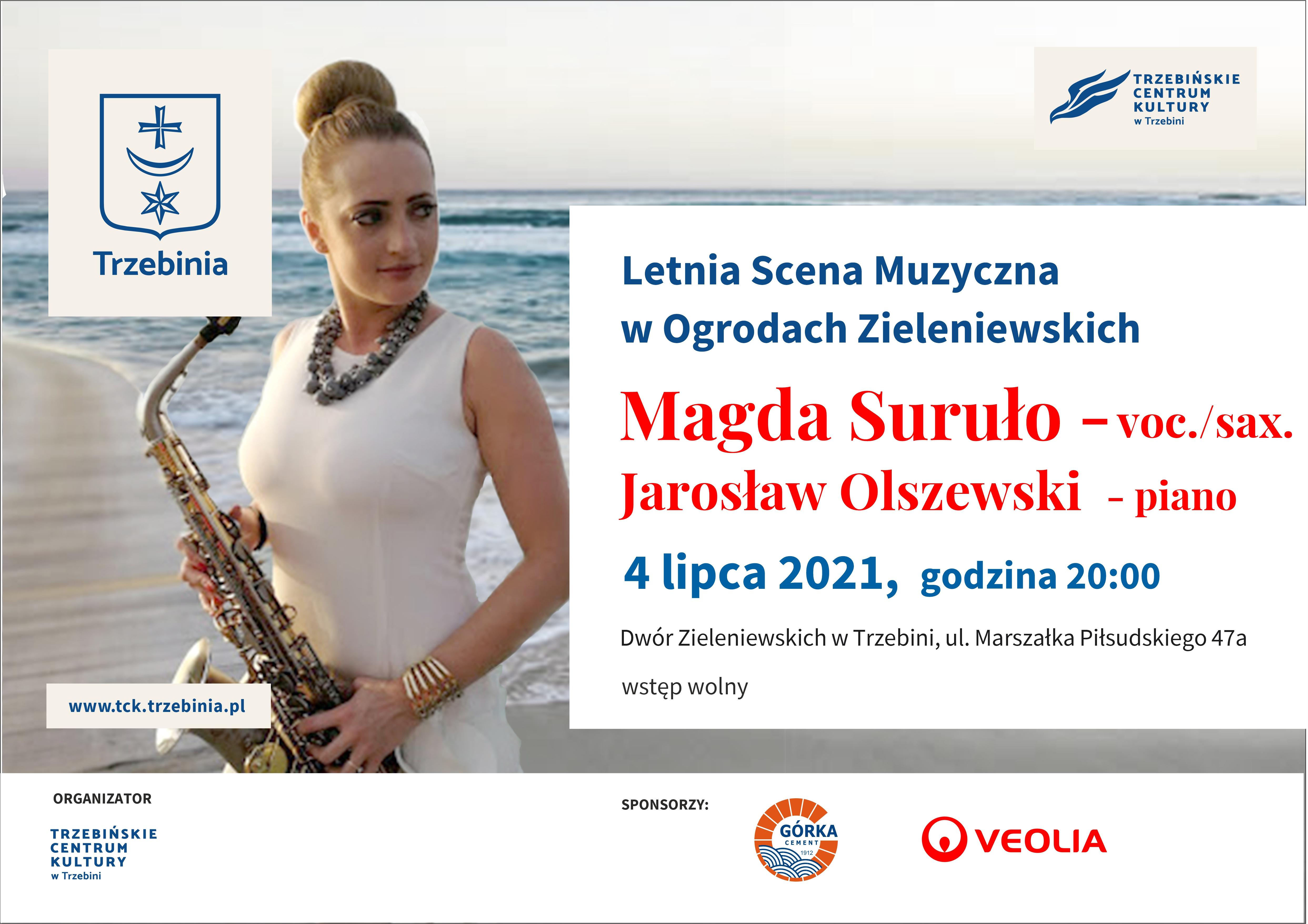 Letnia Scena Muzyczna - koncert Magdy Suruło