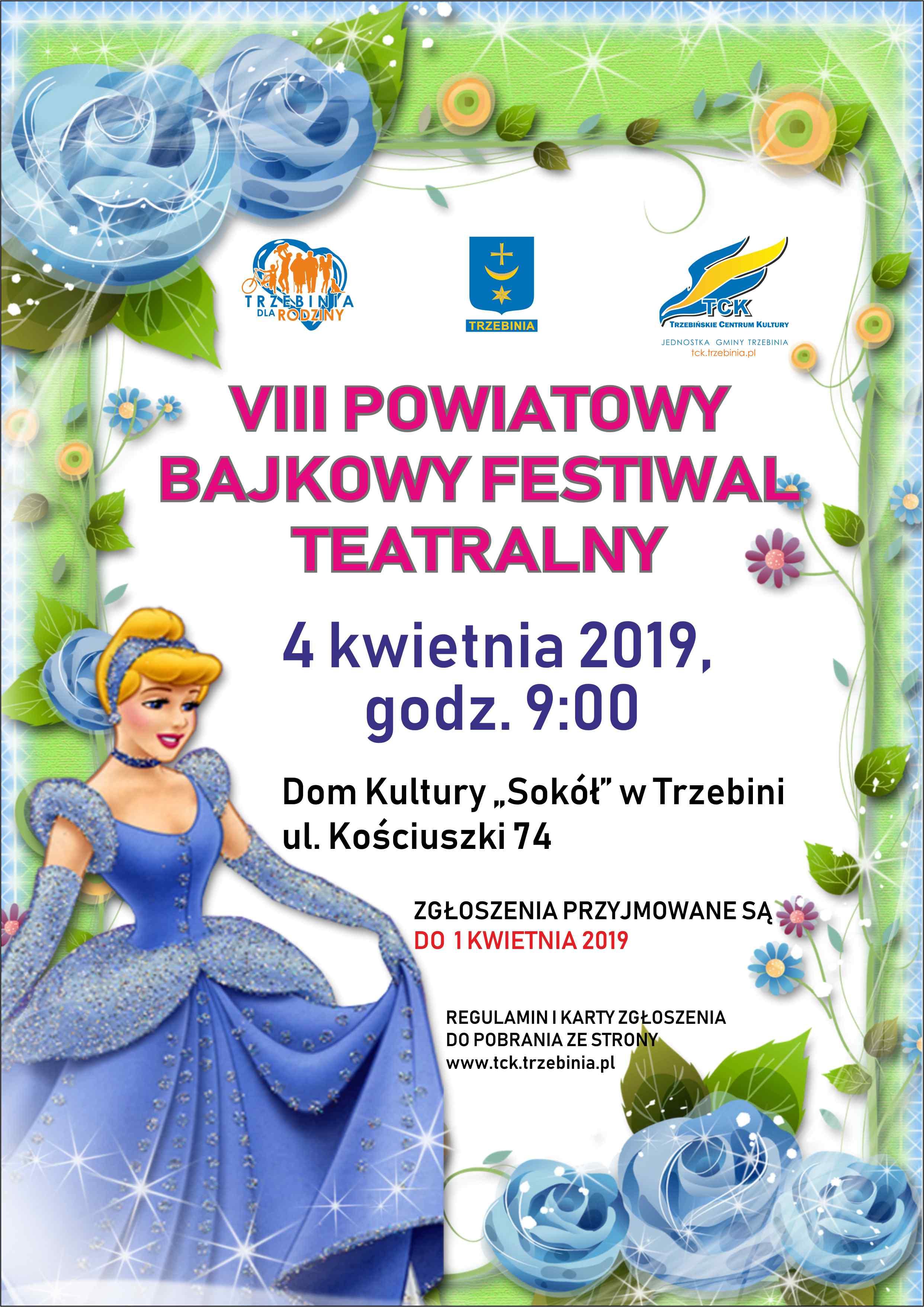 VIII Powiatowy Bajkowy Festiwal Teatralny
