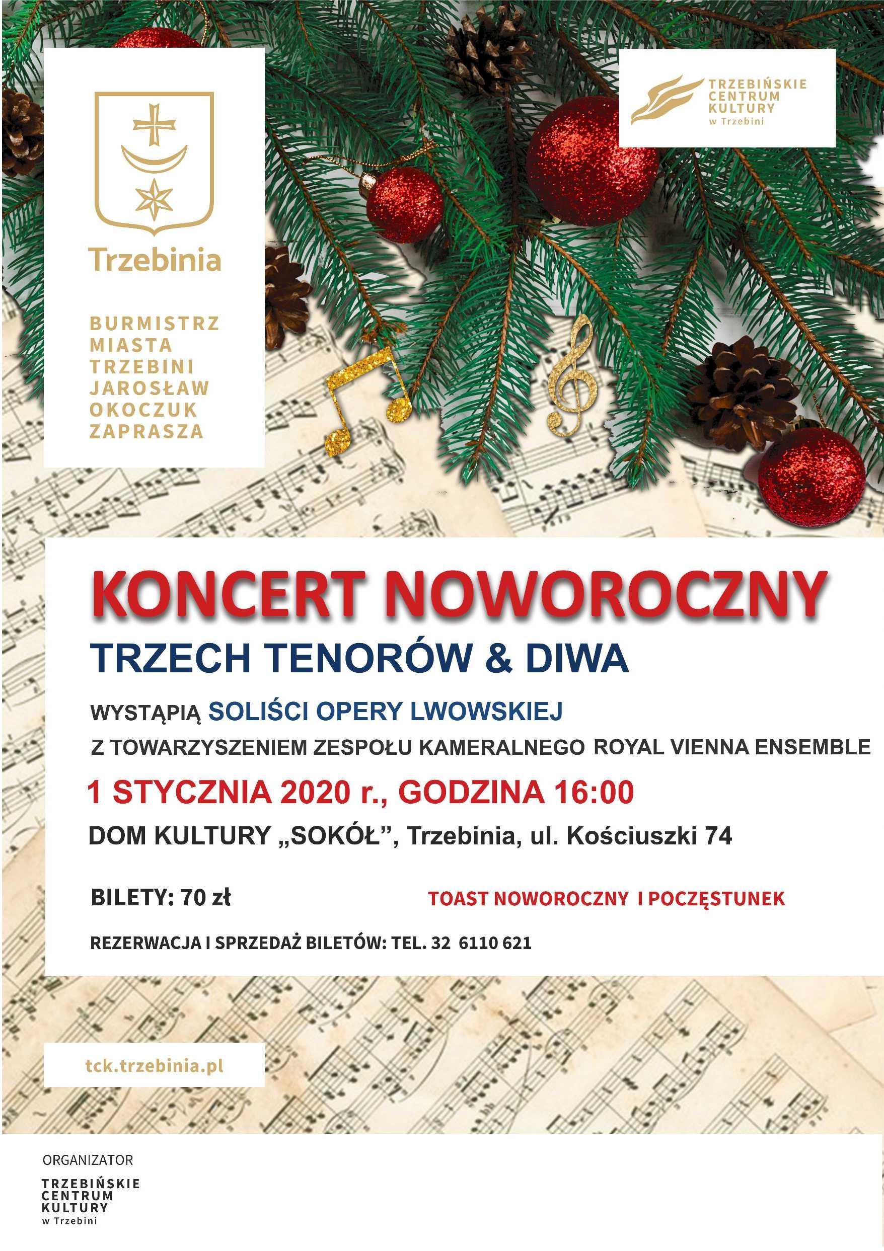 """Koncert Noworoczny 2020 w """"Sokole"""""""
