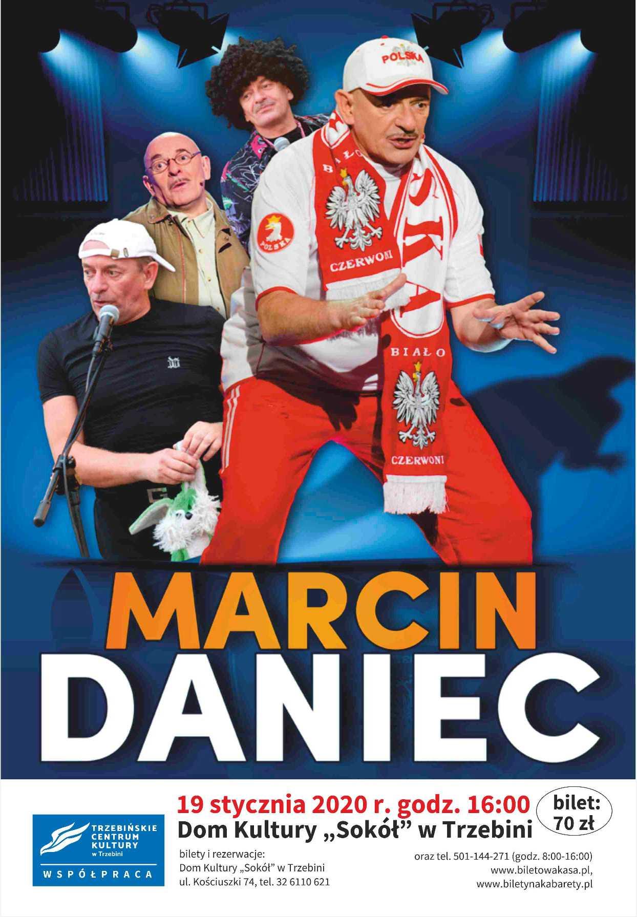 "Marcin Daniec w DK ""Sokół"""
