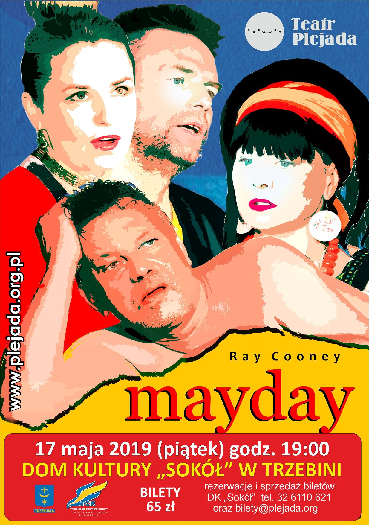 """""""Mayday"""" spektakl komediowy"""