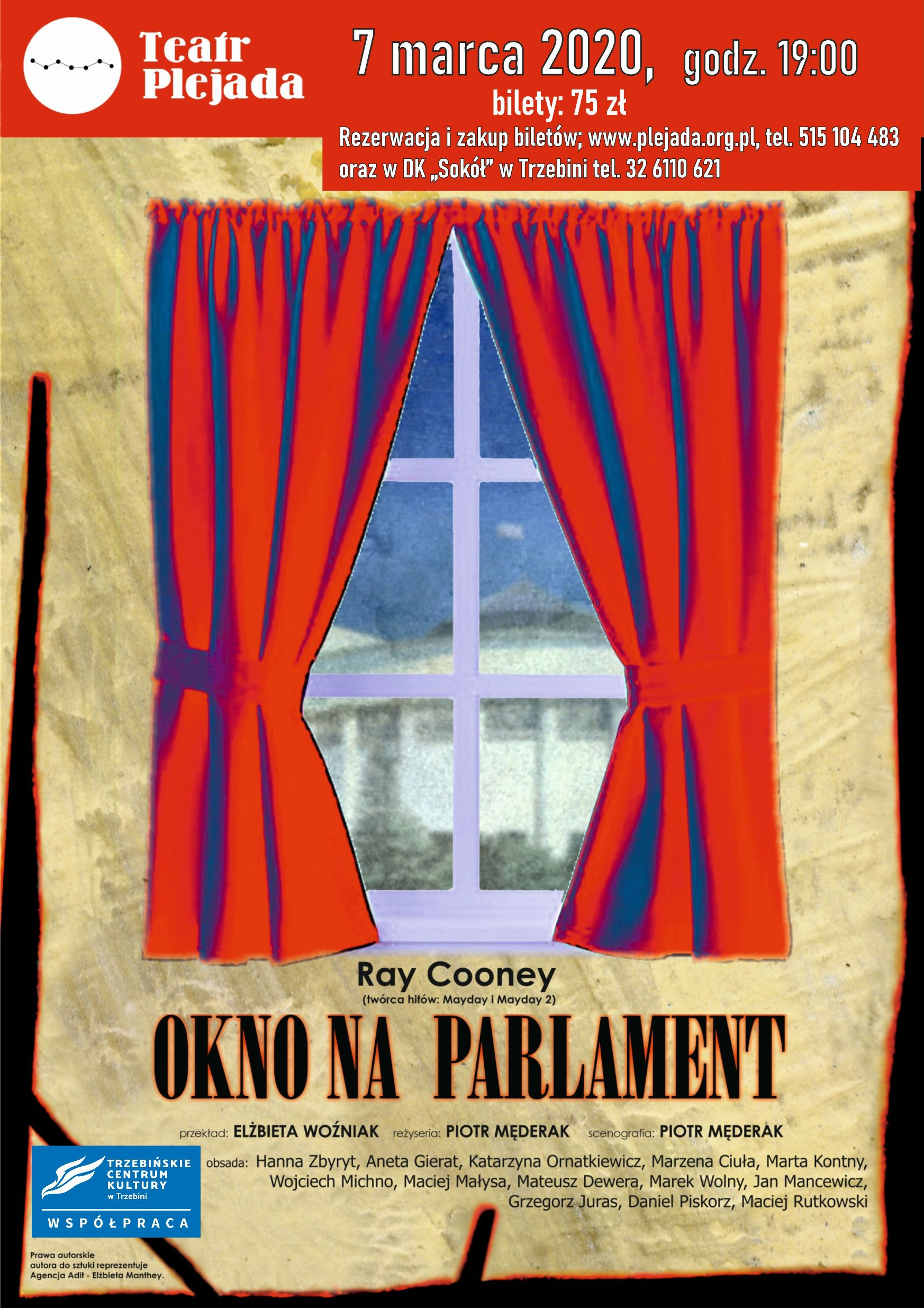 """Okno na parlament""  -spektakl teatralny"