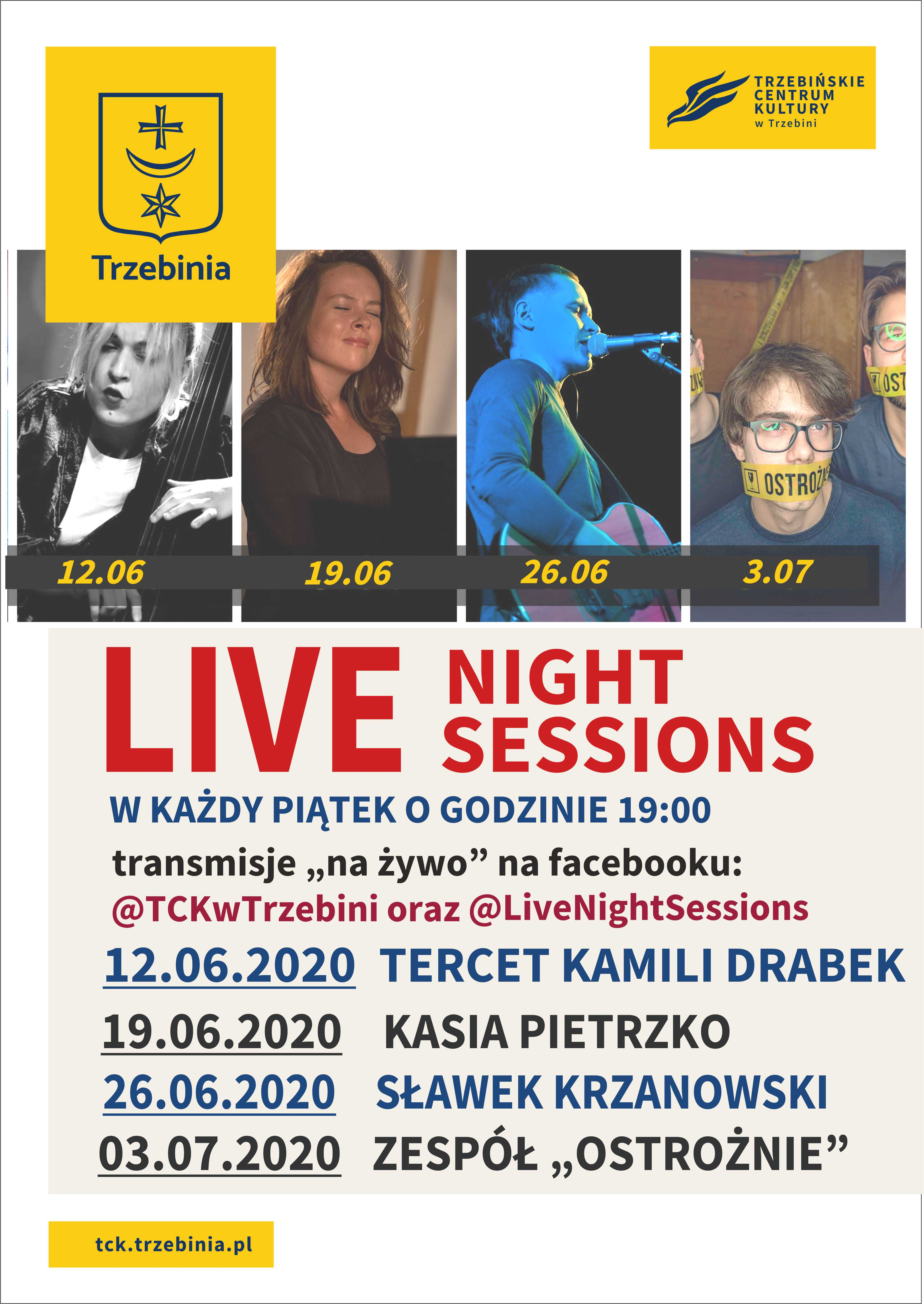 LIVE NIGHT SESSIONS