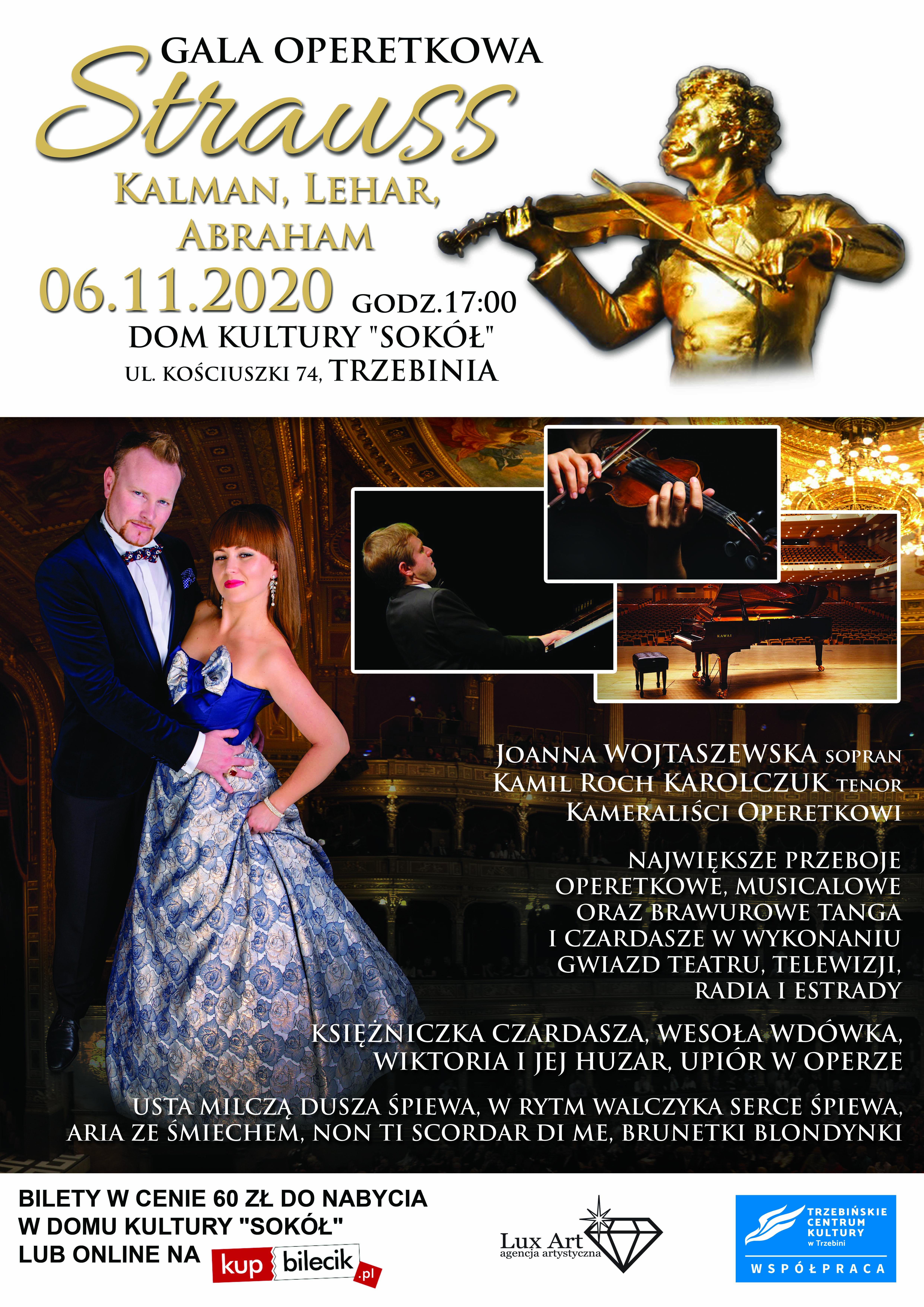 TRZEBINIA GALA OPERETKOWA STRAUSS 06112020 fb
