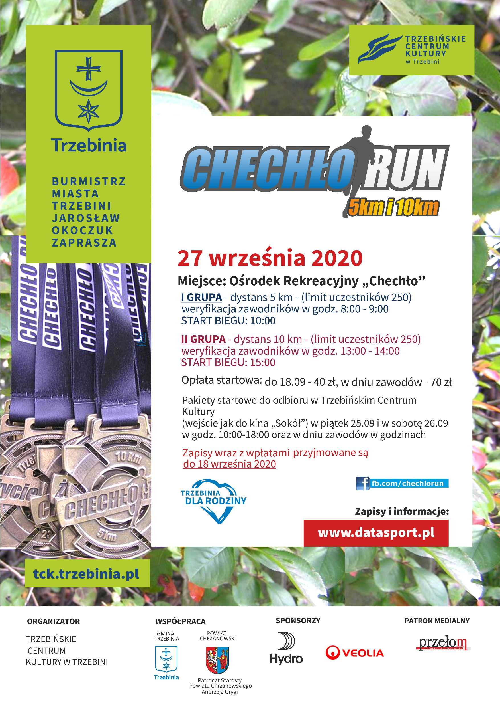 Chechło Run 2020
