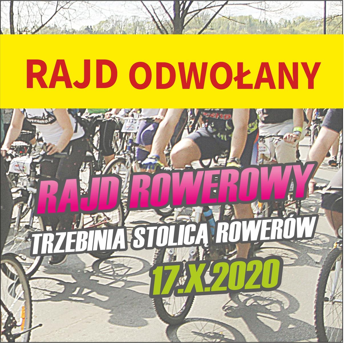 """ODWOŁANY Rekreacyjny Rajd Rowerowy """"Trzebinia stolicą rowerów"""""""