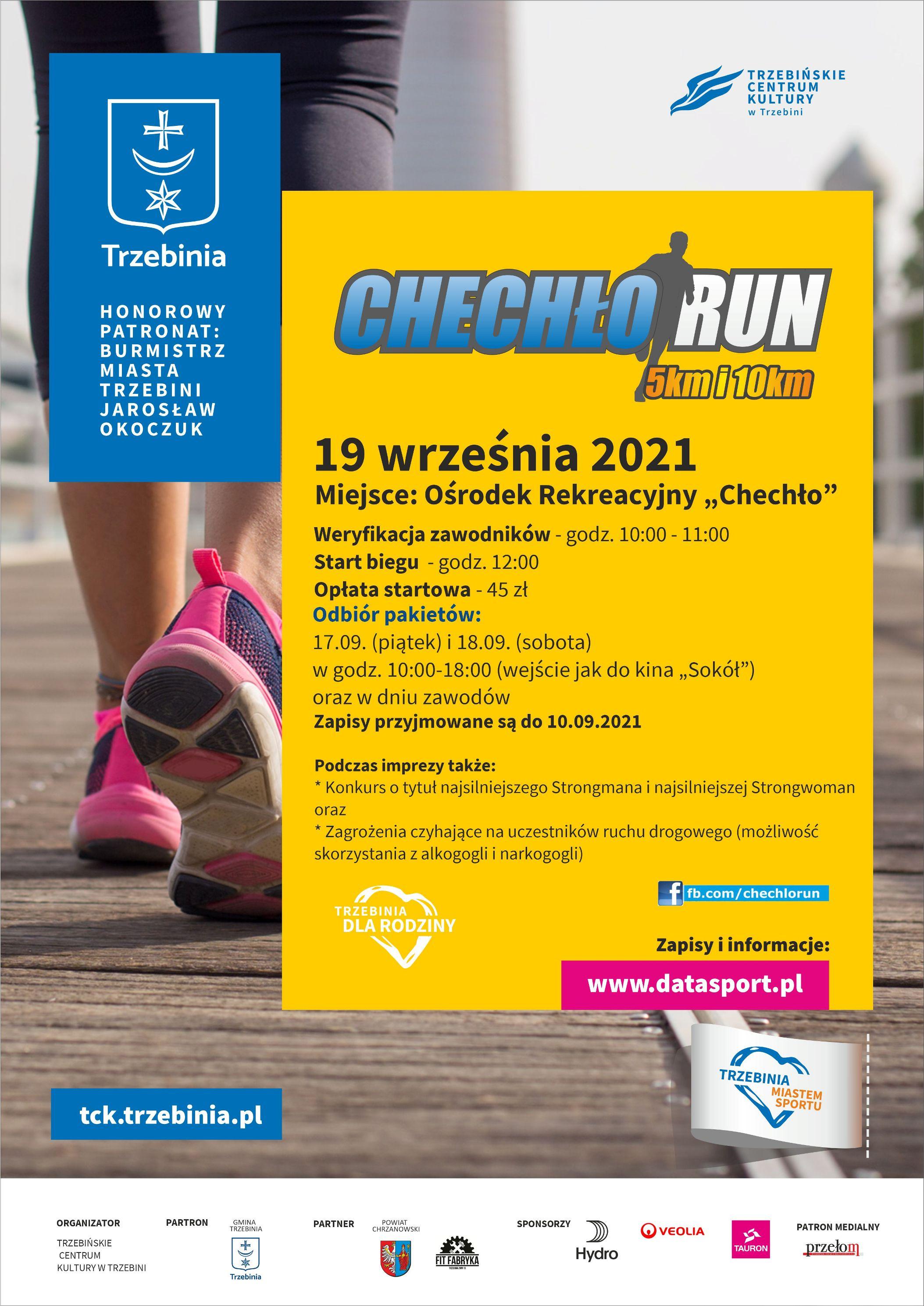 plakat chechło run 21